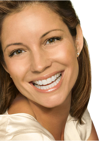 Lady with Botox Forehead and Eye Area